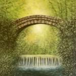 <b>Kamenný most</b><BR><b>Technika</b>: olej na plátně<BR><b>Rozměr</b>: 50×40 cm<BR><b>